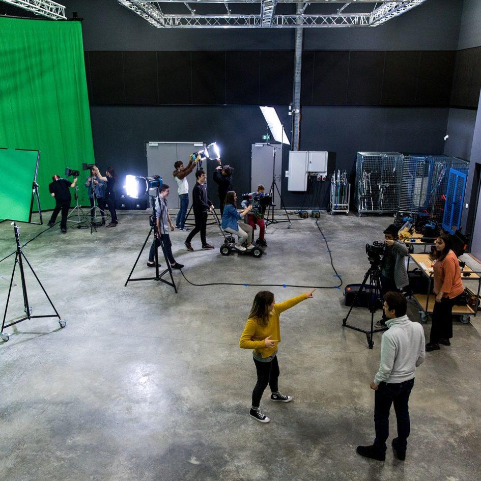 studio de tournage cinéma
