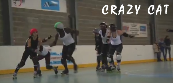 Crazy Cat : Le roller Derby