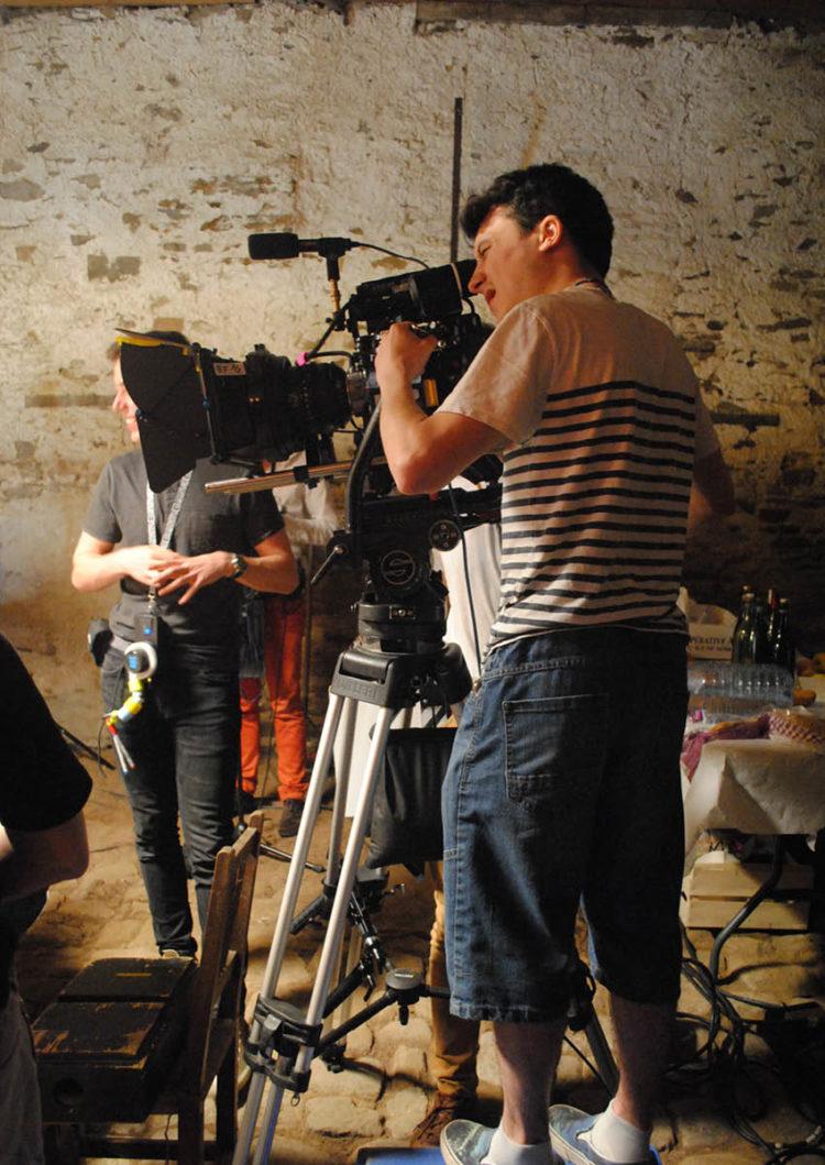 Le tournage de