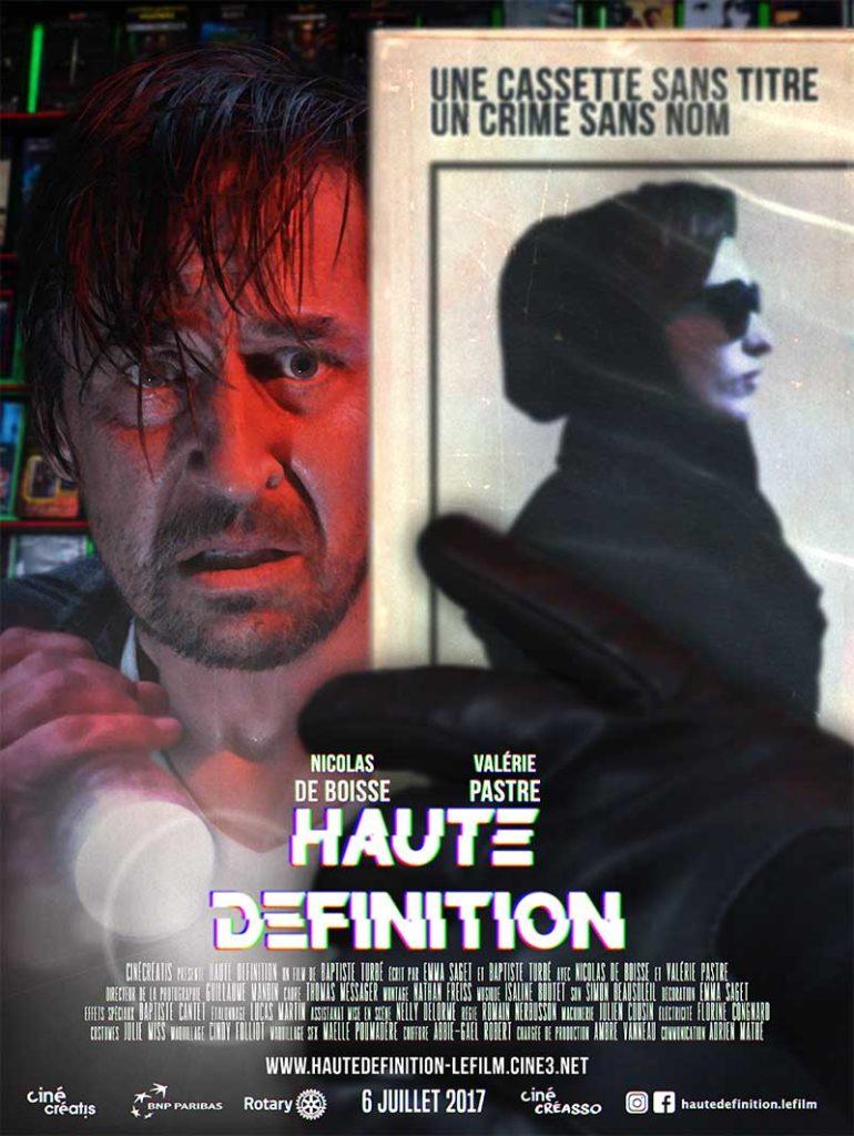 Affiche du court-métrage Haute Définition de Baptiste Turbé (2017)