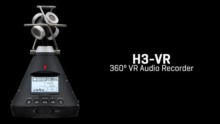 Arrivée prochaine du Zoom H3-VR