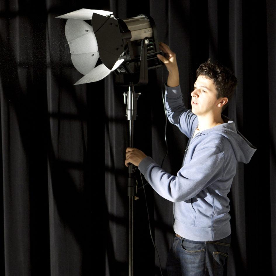 Opérateur cadre et lumière