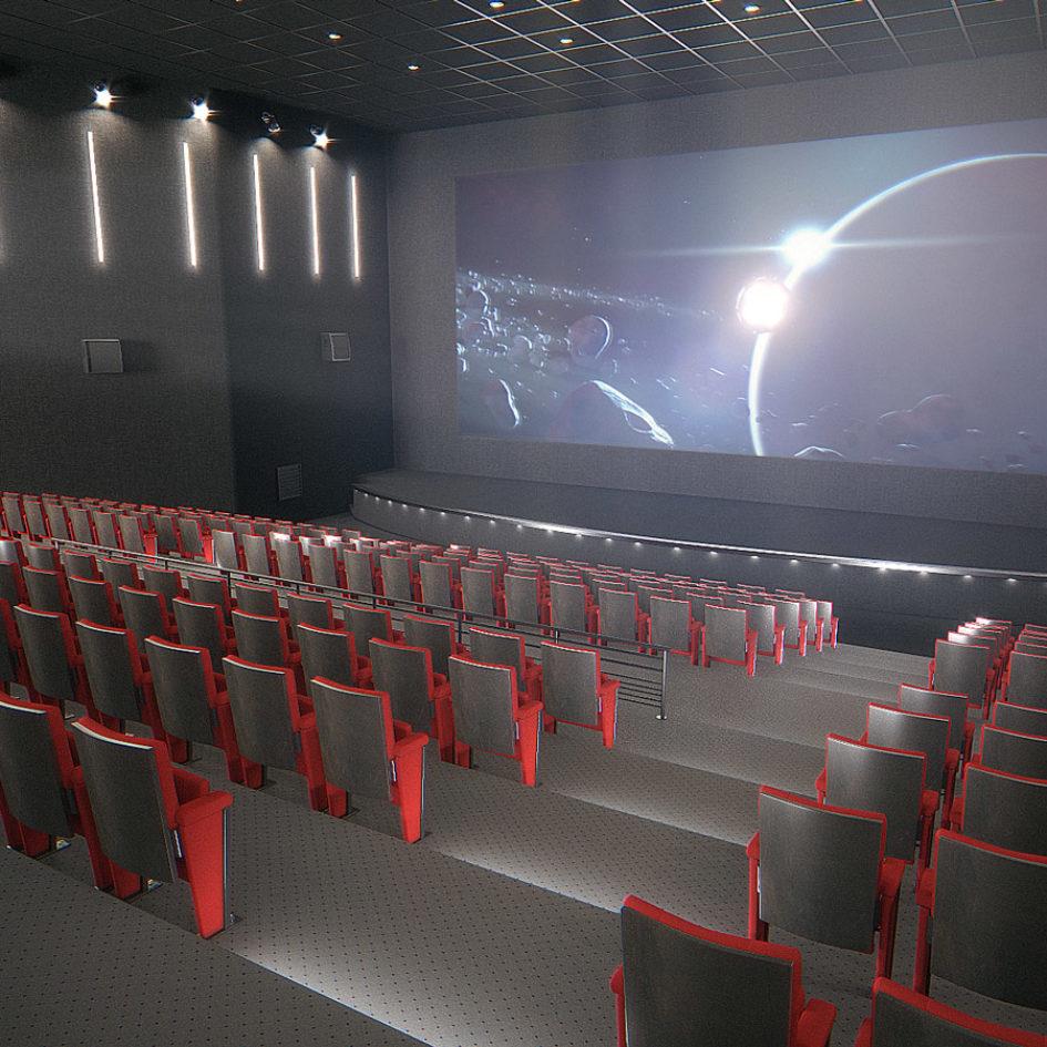 Salle de projection privée