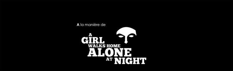 À la manière de... A girl walks home alone at night