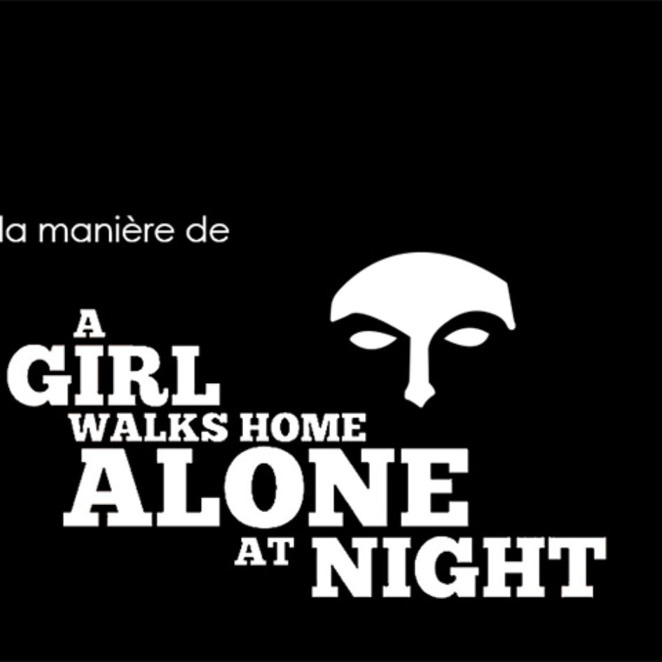 À la manière de... A girl walks home alone at night
