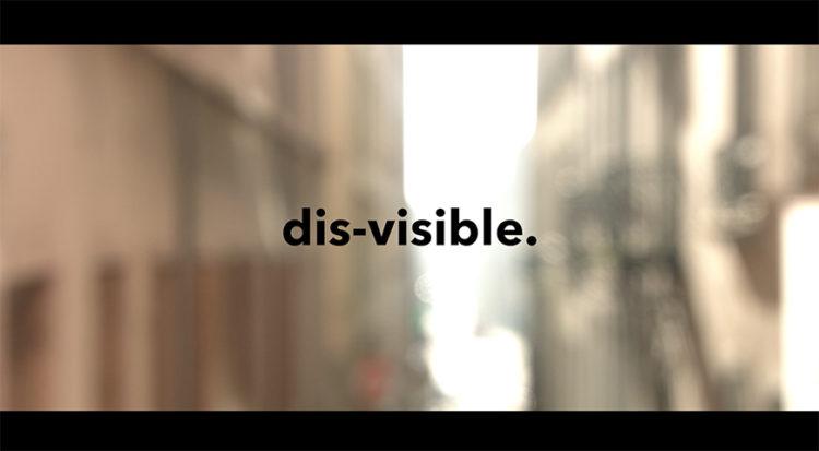 Dis-visible.