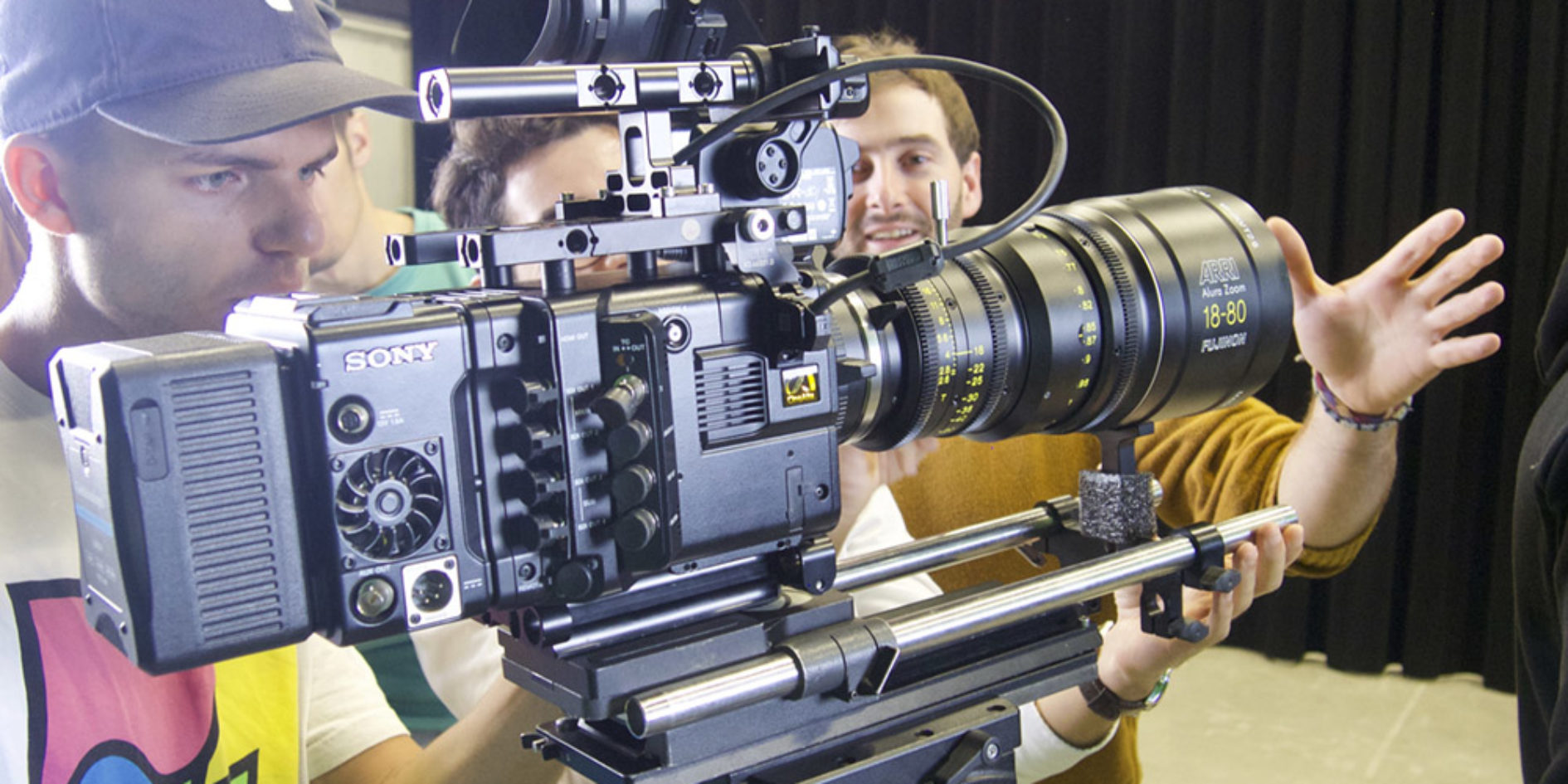 caméra CineAlta PMW-F55