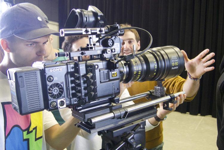 Caméra SONY CineAlta PMW-F55