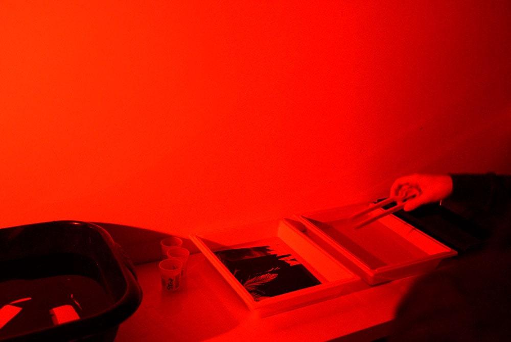 Atelier pratique de développement de film ou tirage en chambre noire