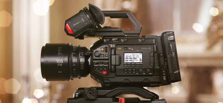 Caméra Blackmagic URSA Mini Pro 4.6K