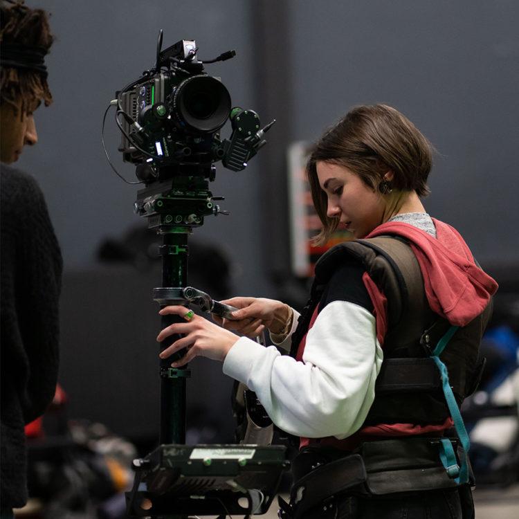 Workshop consacré aux métiers de steadicamer et assistant caméra à Lyon.