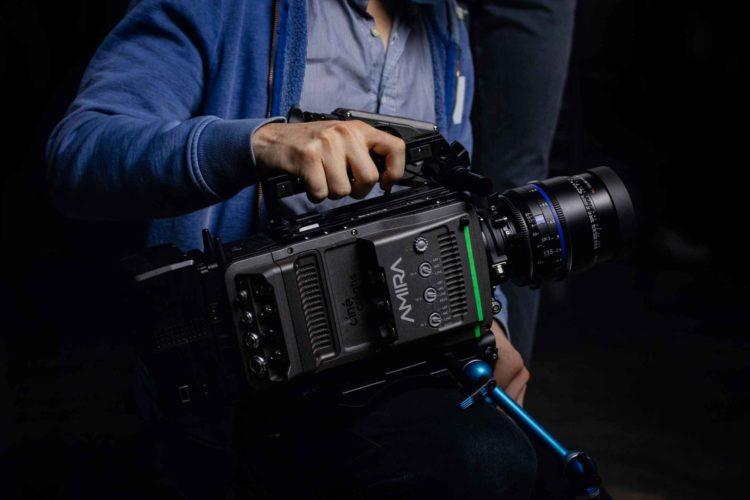Atelier Packshot - Caméra ARRI - Amira