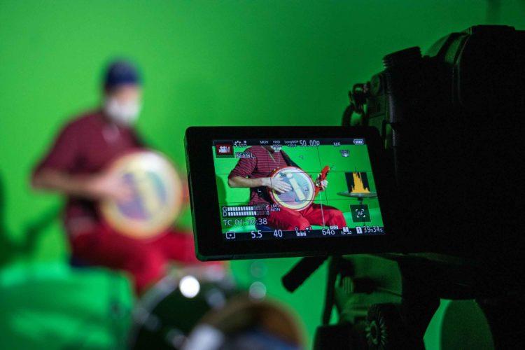 Tournage d'un clip vidéo « Keytam » avec Cyril Atef