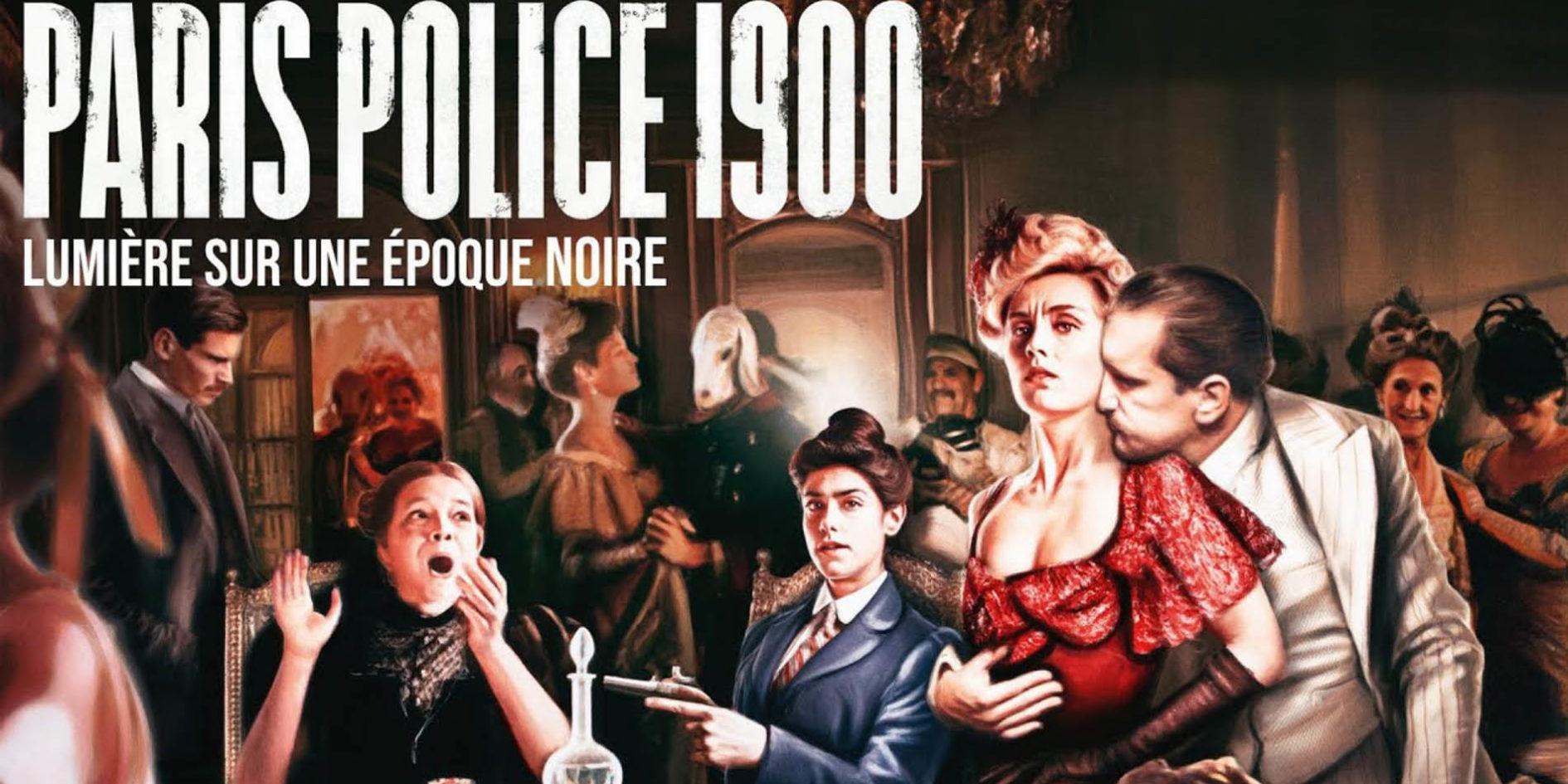 Série paris police 1900