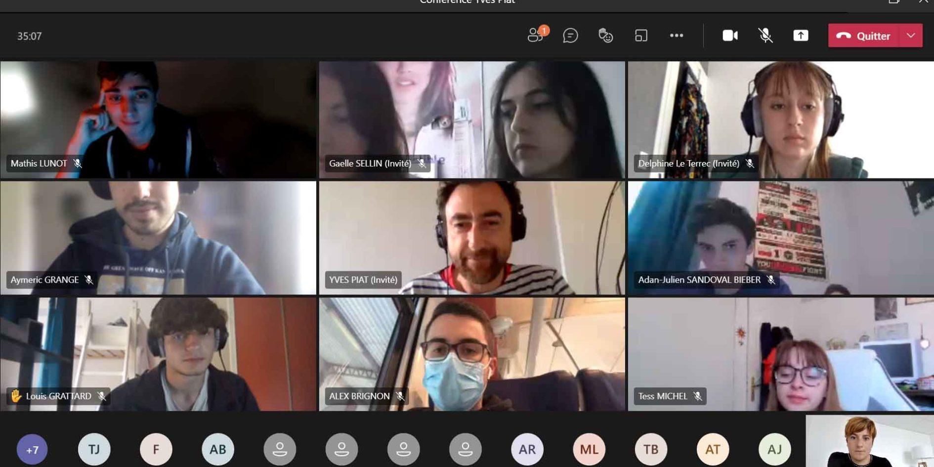 conférence digitale de Yves Piat à cinécréatis